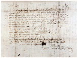 Framed letter from the sculptor Thomas Banks to his daughter Lavinia, 14 August 1799