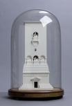 Model of a monument at Palmyra, Syria, 'restored', <i>c</i>.1800-1834, plaster of Paris.