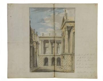 image J. Soane/MS for/History/13 LIF/and/Ealing/6