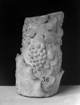 Fragment of the lower section of a Roman candelabrum or shaft