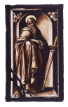 <i>Saint Paul</i>, stained glass panel, German, early 17th century