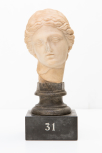 Head from a Roman statuette of <i>Urania</i>
