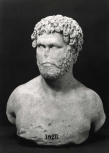Roman bust of a man of the Antonine age