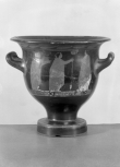An Attic (Greek) bell <i>krater</i> (wine bowl)