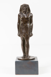 Statuette of an Egyptian king