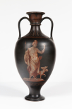 "Wedgwood ""Etruscan"" vase, early 19th century. Pair with A13."
