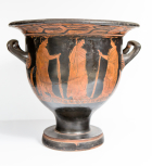 A Greek (Attic) bell krater (wine bowl)