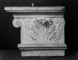 LEFT SIDE OF A COMPOSITE PILASTER CAPITAL (?)