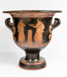 A south Italian (Apulian) bell krater (wine bowl)