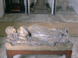 Model for the monument to Penelope, daughter of Sir Brooke Boothby in Ashbourne Church, Derbyshire, plaster