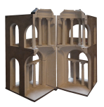 Model for the Pitt Cenotaph at the National Debt Redemption Office, London, preliminary design, designed by Sir John Soane