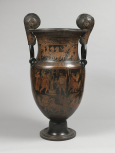 An Apulian (Greek) Mascaroon<i> krater </i>known as the 'Cawdor Vase'