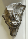 FOLIAGE FRAGMENT FROM A LARGE CORINTHIAN (OR COMPOSITE) CAPITAL