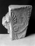 Fragment of a large Roman altar or statue group(?) base