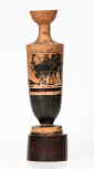 An Attic (Greek) <i>lekythos</i>