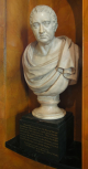Bust of Sir William Chambers, marble, <i>c.</i>1797