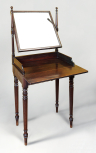 Dressing Table, English, unknown maker, <i>c</i>.1810, mahogany, brass and mirror glass