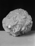 Fragment of a male head: replica of the <i>Ares Ludovisii</i>