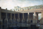 <i>Perspective view of a design for Public Baths</i>