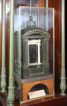 Model for the Soane Tomb, St Pancras Gardens, London, (designed by Sir John Soane), <i>c</i>.1816, painted wood