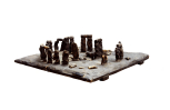 Model of Stonehenge, Wiltshire, late 18th century, cork