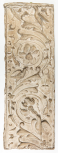 Cast of a pilaster panel with arabesque and scroll ornament, perhaps from the Arch of the Argentarii