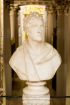 Bust of Sir John Soane, marble