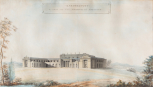 Elevation of the principal front of Baronscourt, Ireland, 1791