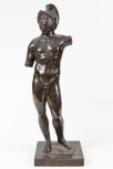 Statuette of Mars (the Roman God of War), Italian, 18th Century(?)