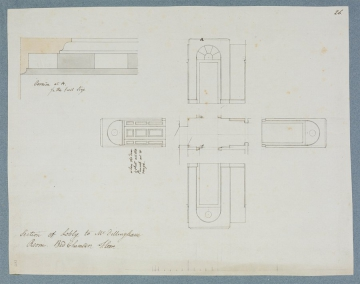 image Image 1 for SM 'Miscellaneous / Drawings / of / Architectural / Designs' volume 57/26, 81/2/40, 81/2/91