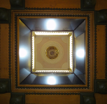 Model for the Freemasons' Hall, Great Queen Street, London, lantern light, designed by Sir John Soane