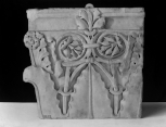 Fragment of a Roman composite pilaster capital.