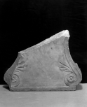 Fragment of the side-leg of a Roman seat or bench
