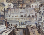 <i>Watercolour of the Upper Drawing Office 2009.</i>