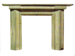 Model for ?Pell Wall, Shropshire, chimneypiece, (designed by Sir John Soane), painted wood
