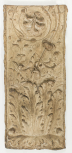 Cast of a pilaster panel with arabesque ornament, perhaps from the Arch of the Argentarii, plaster