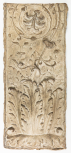 Cast of a pilaster panel with arabesque ornament, perhaps from the Arch of the Argentarii