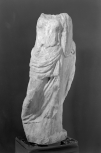 Small headless statue of a female