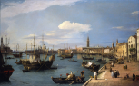 <i>Riva degli schiavoni, Venice (View on the Grand Canal)</i>