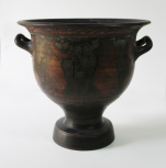 An Apulian (Greek) bell krater (wine bowl)
