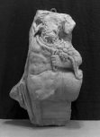 Fragment from a Roman bacchic sarcophagus depicting a centaur