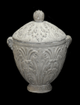 Funerary (cinerary) vase with foliate enrichment