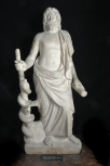 Statue of Asklepios (or Aesculapius)