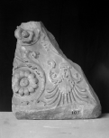 Fragment of a Roman altar or perhaps a carved base