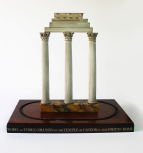 Model of the Temple of Castor and Pollux, Rome