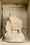 Fragmentary statue of the enthroned Jupiter