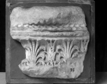 Fragment of the base of a column (M582 is another section of the same base: the two fit together exactly).