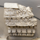 Cast of a fragment of cornice in the Farnese Gardens, Rome