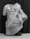Torso of a statue of the muse Terpsichore (the muse of dancing and song)