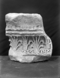 Fragment of the base of a column (Soane S95 is another section of the same base: the two fit together exactly).